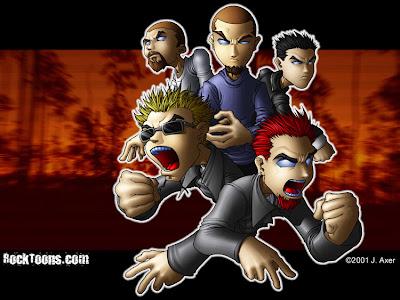 Linkin Park caricatura