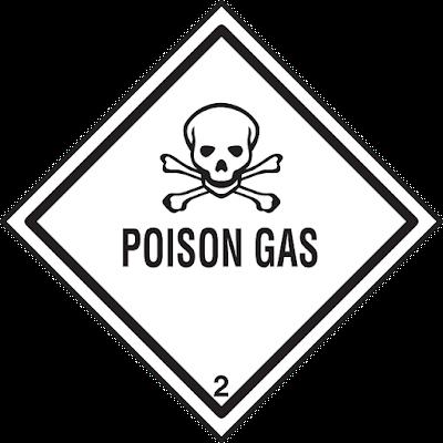 Warning Poison Gas