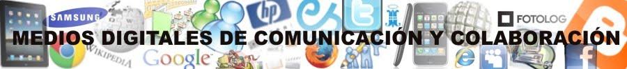 Medios digitales de comunicación y colaboración - NTICx
