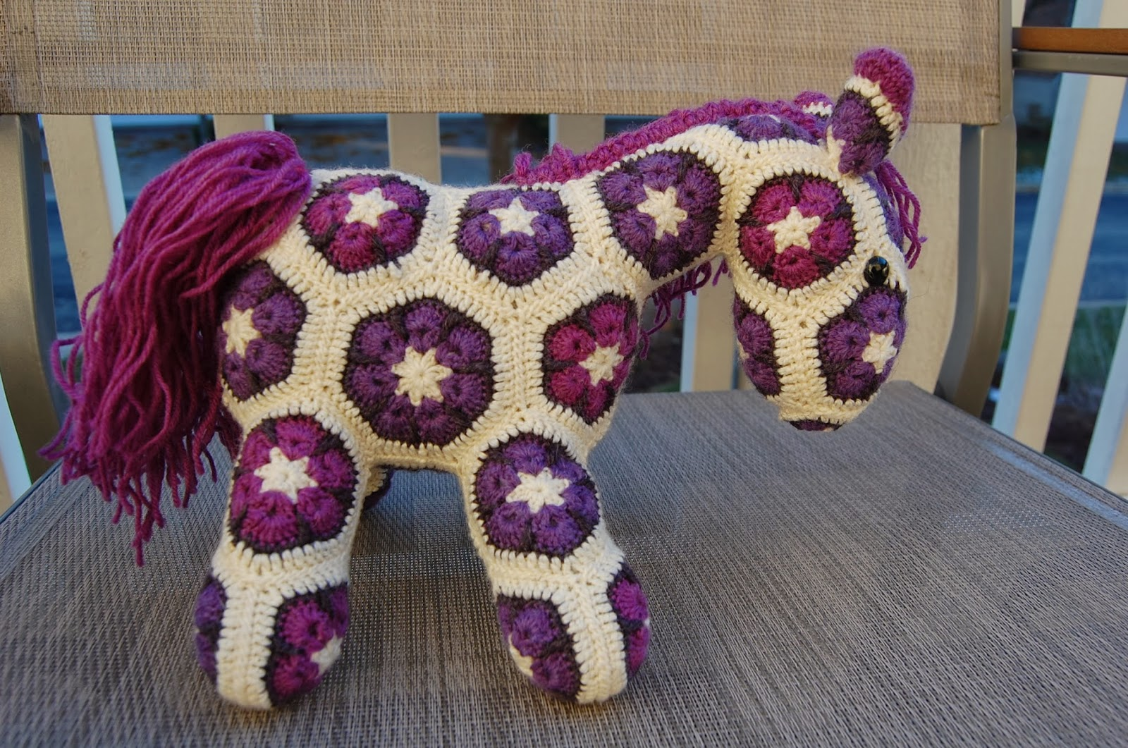 Roonie Ranching: Rose and Evelyn\'s African Flower Ponies