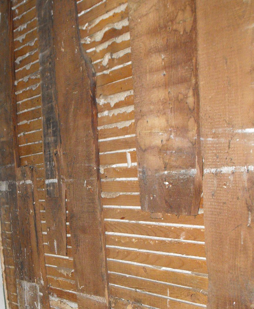 Lath And Plaster : In my quot spare time last fall this old farmhouse
