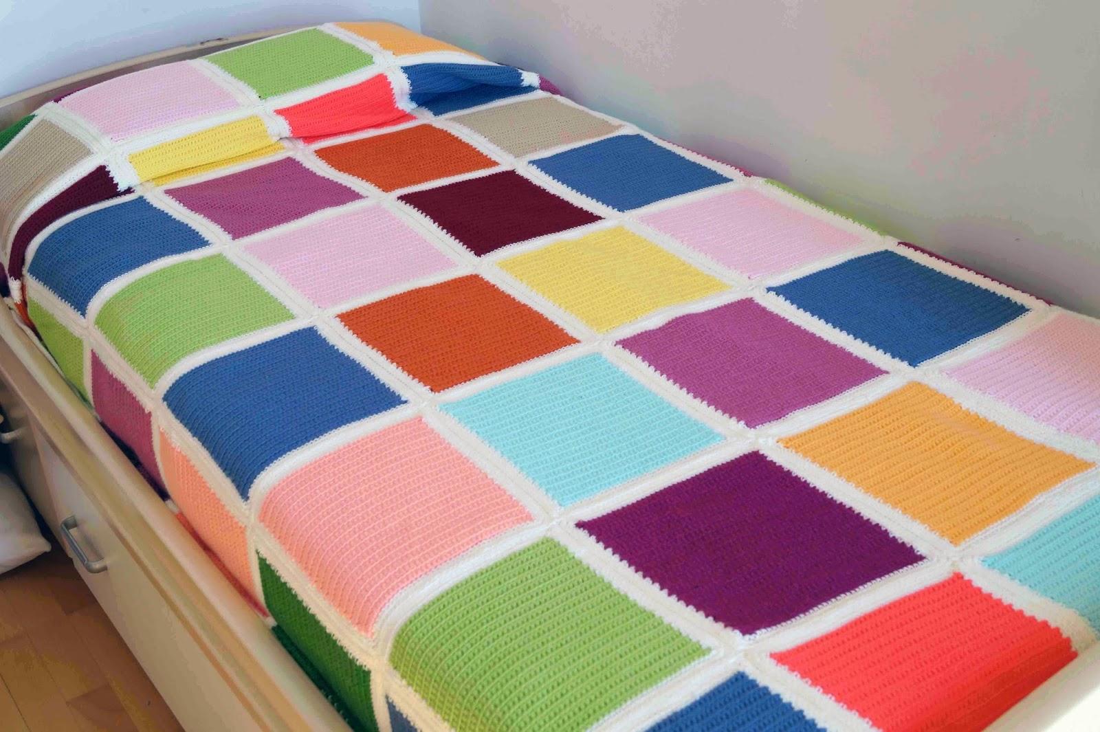 Deshilachado Colchas De Ganchillo Crocheted Blankets