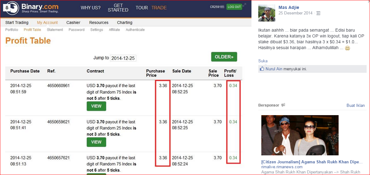 Trik gratis trading binarycom