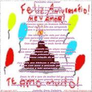 Parabéns meu amor. Publicada por ArcoIris Jose e Dora à(s) 00:00 1 . (parab ns meu amor)