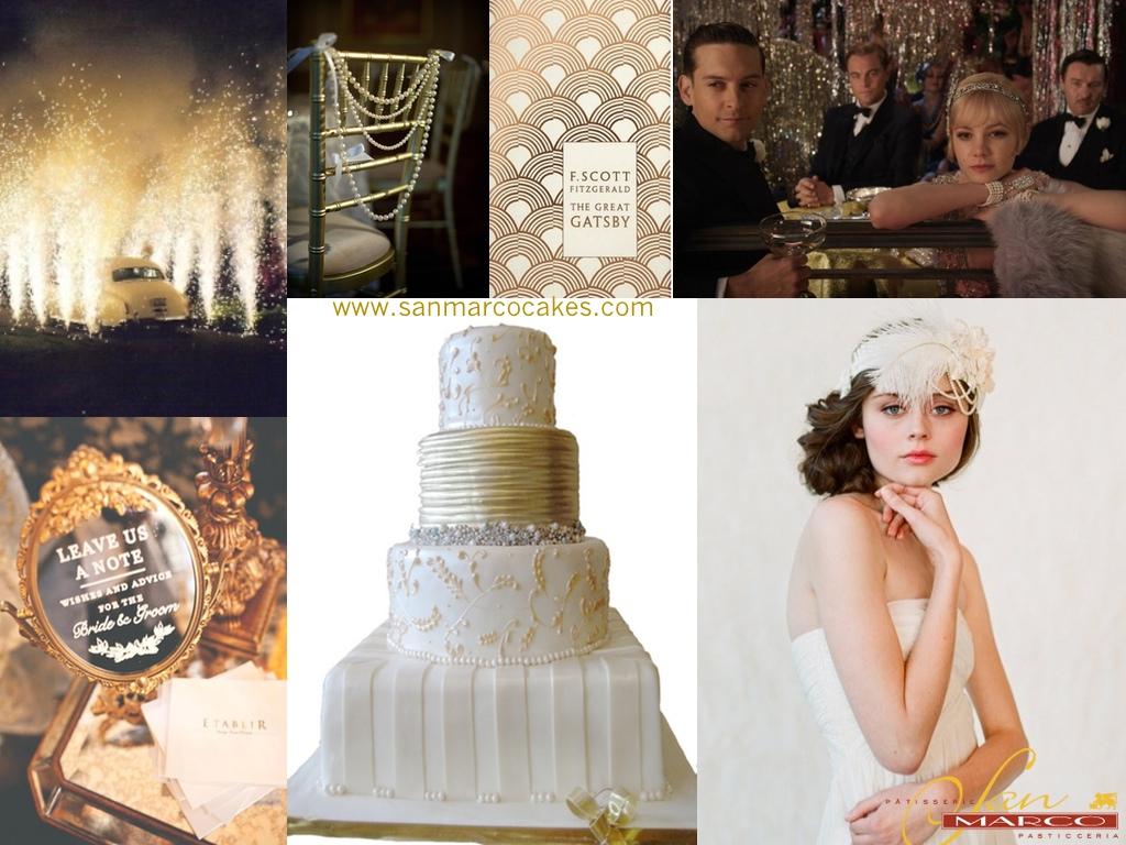 San Marco Cakes: Great Gatsby theme - Wedding Inspiration - San ...