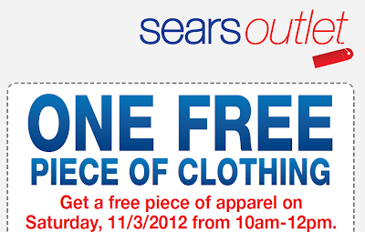 Coupons for sears clothing store