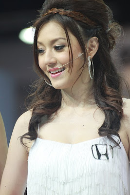 สาวพริตตี้ ฮอนด้า Pretty girls of Honda car at Bangkok International Motor Show 2011