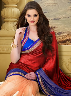 Motifs Work Sarees Designs