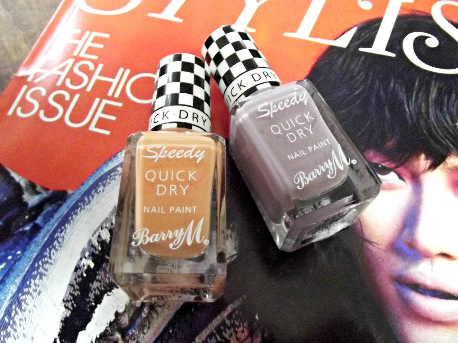Barry M Speedy Nail Paint Full Throttle & Lap of Honour