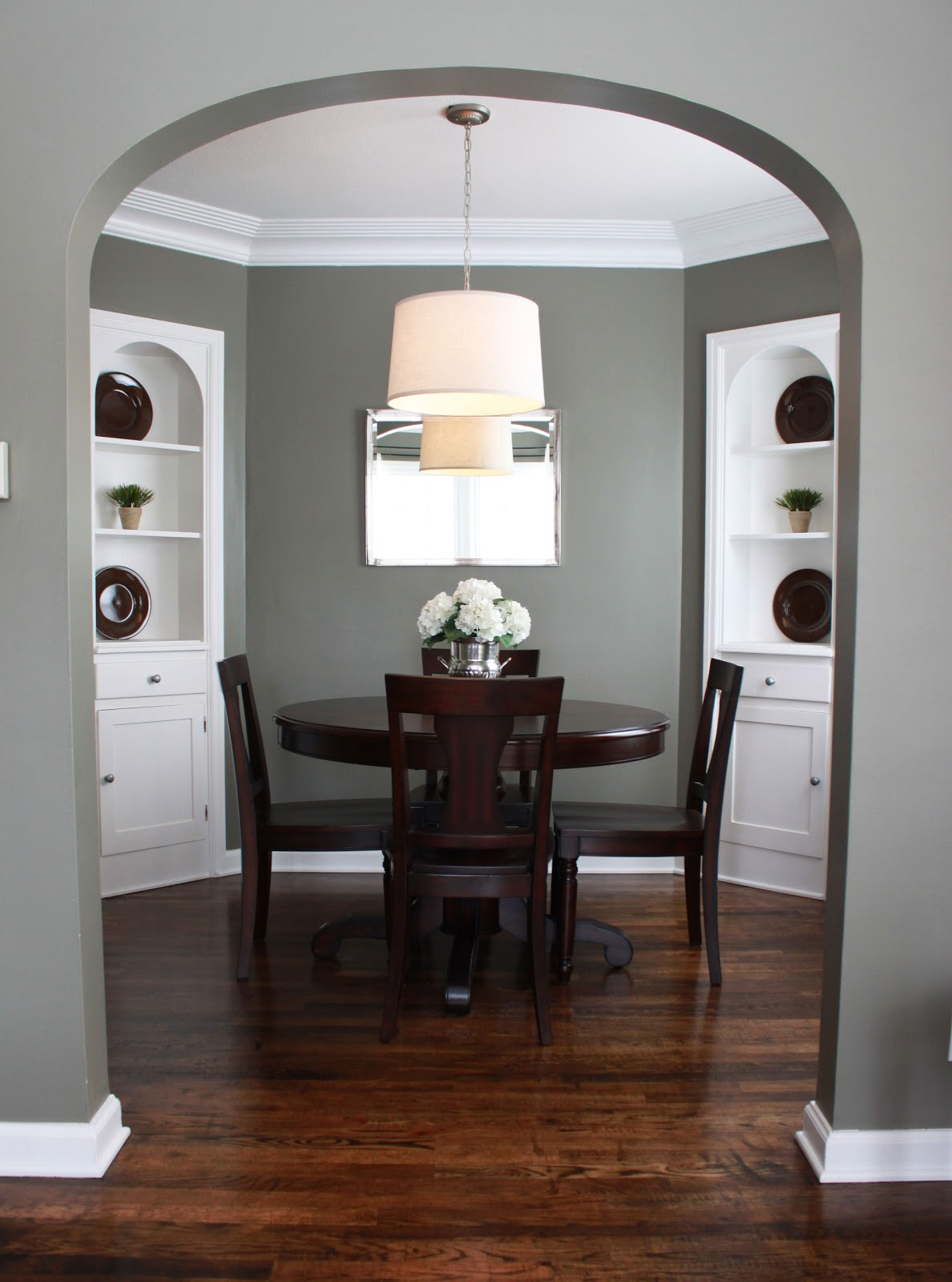 Numbered street designs paint colors for Dining room grey walls