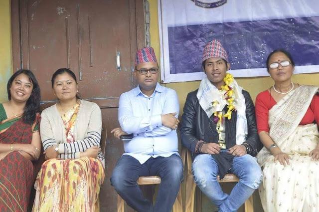 Mirik Lad Sairaj Khati Gets a Warm Welcome in Town