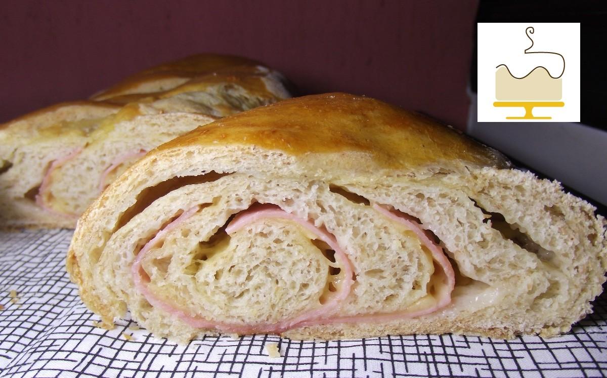 Blog Deli Art Cake Creations : Pao Integral Recheado Deli Art Cake Creations