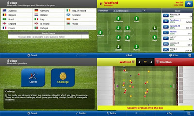 Football Manager Handheld (FMH) 2013 v4.2 Apk SD Data Android
