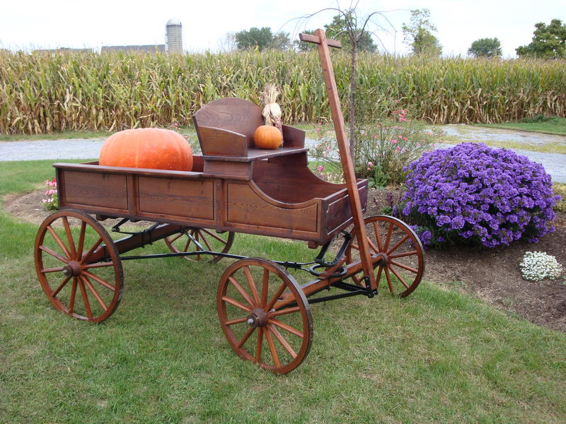 how to build a buckboard wagon