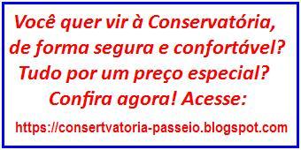Venha Para Conservatória! Clique na mensagem abaixo e saiba como!