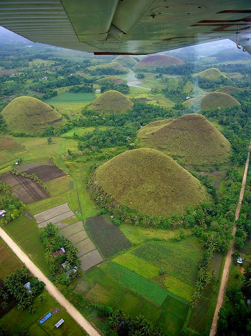 The Chocolate Hills of Bohol, Philippines