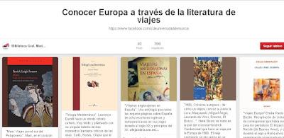 """""""Conocer Europa a través de la literatura de viajes"""""""