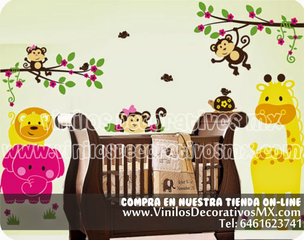 Perchero infantile de vinil decorativo 22 arbol y for Vinilos infantiles