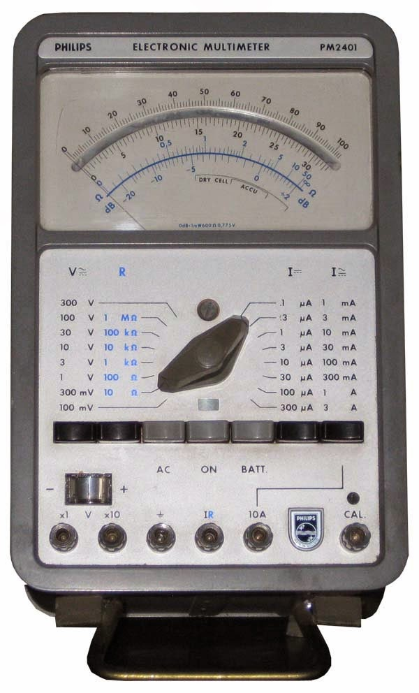 Philips Electronic Multimeter PM2401