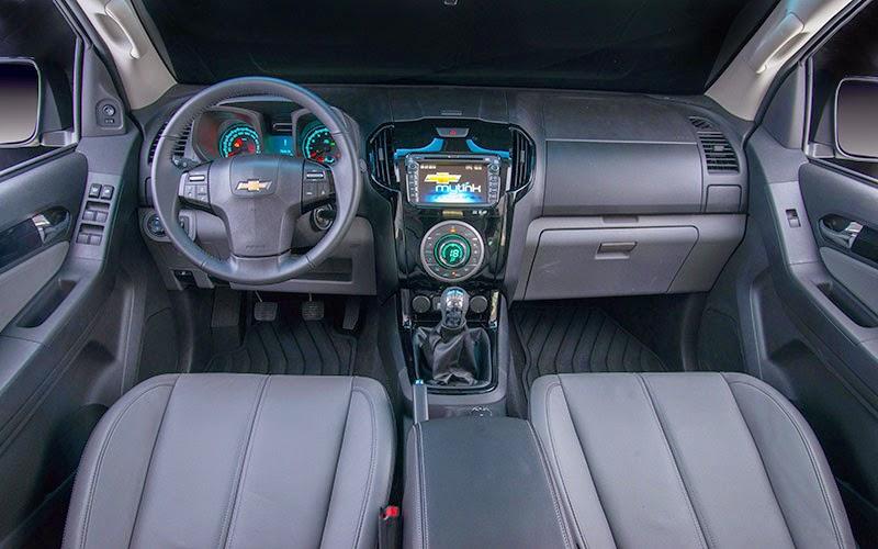 Chevrolet S10 2015 foto interior