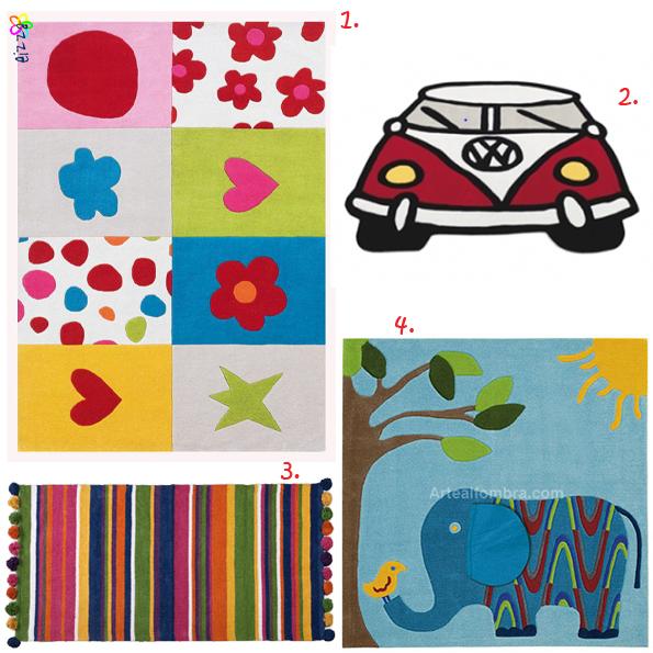 Especial alfombras infantiles - Alfombras infantiles bebe ...