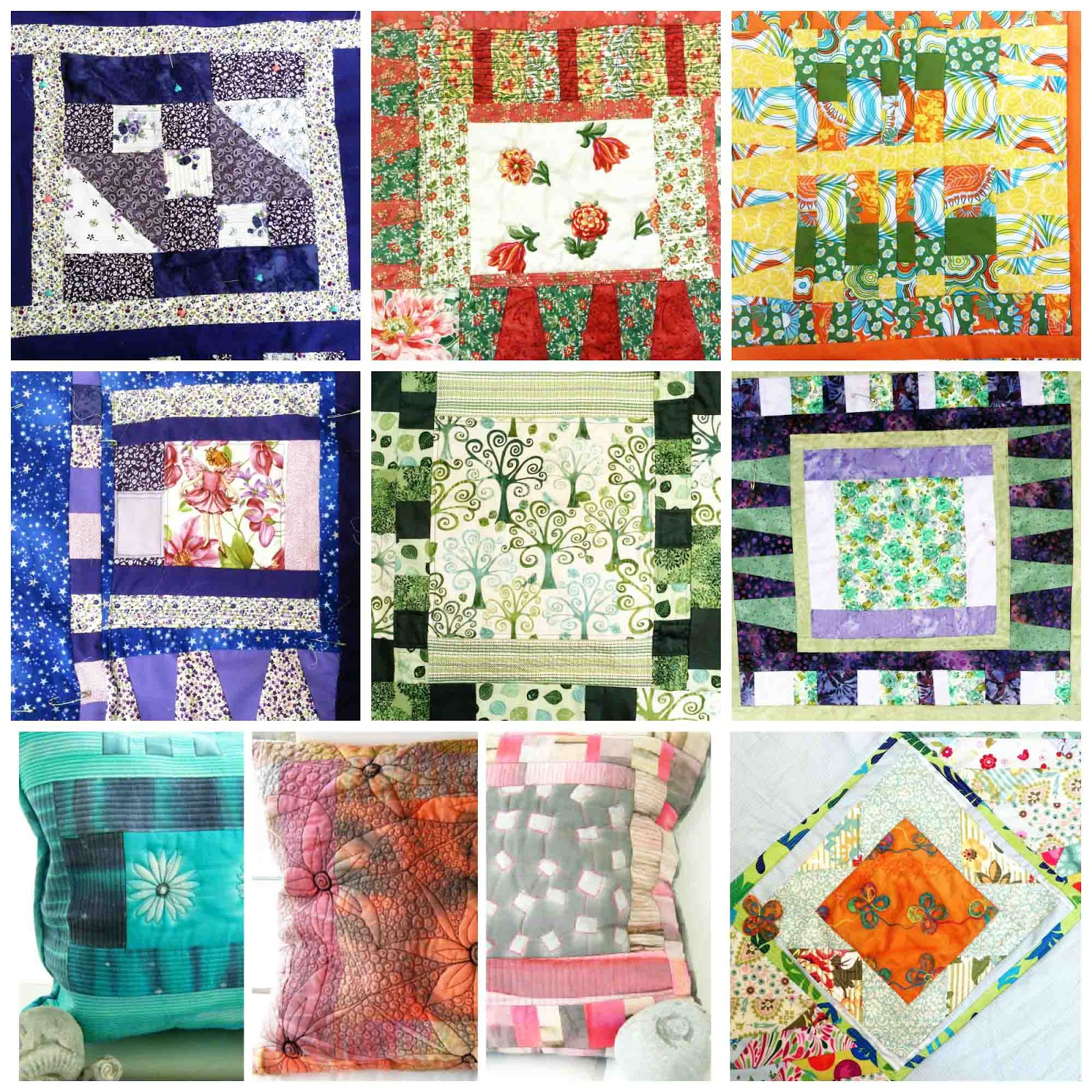 Scappy Happy  Cushions workshop