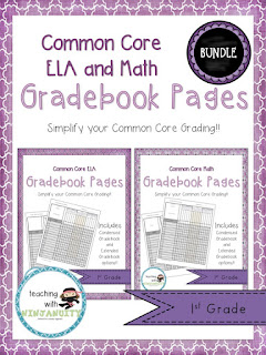 https://www.teacherspayteachers.com/Product/1st-Grade-ELA-and-Math-Common-Core-Gradebook-Pages-BUNDLE-1989442