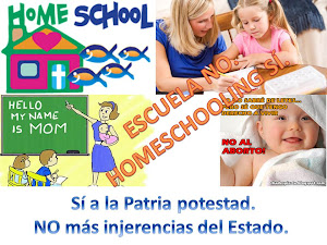 ¡Arriba lo privado y el Homeschooling!