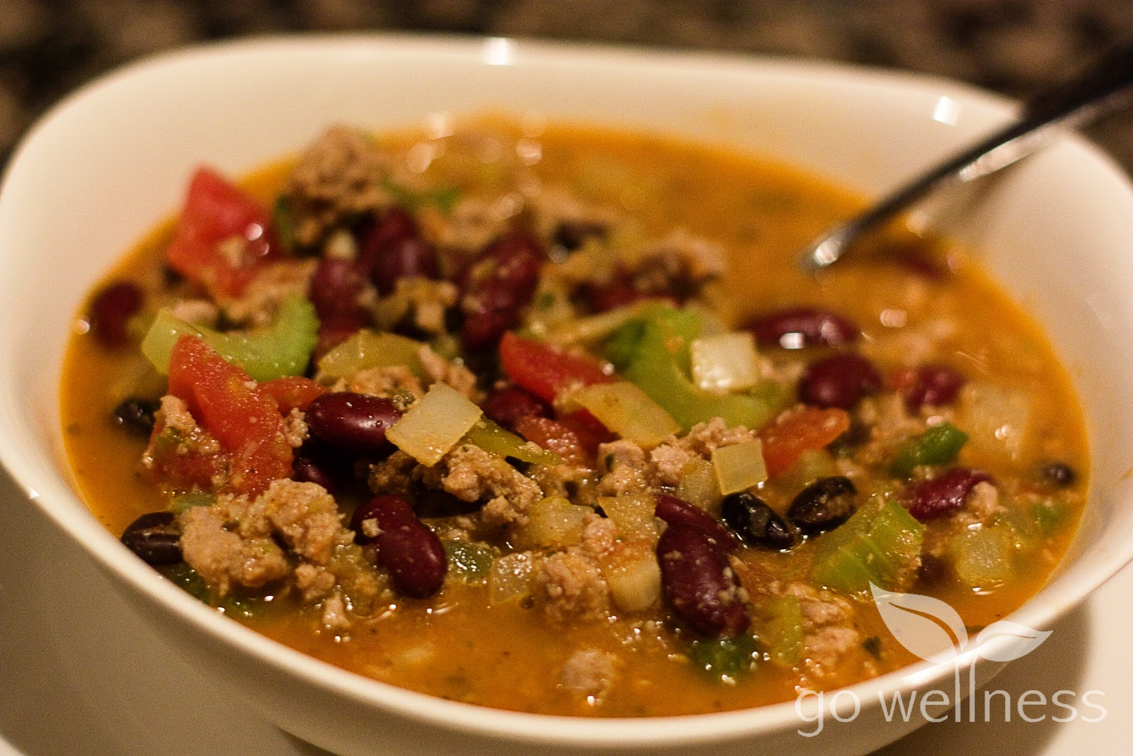 Nutrition and Wellness Bytes: Foodie Friday: Healthy Turkey Chili