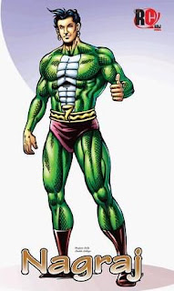 Nagraj comics Picture