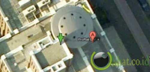 Lokasi pendaratan UFO?