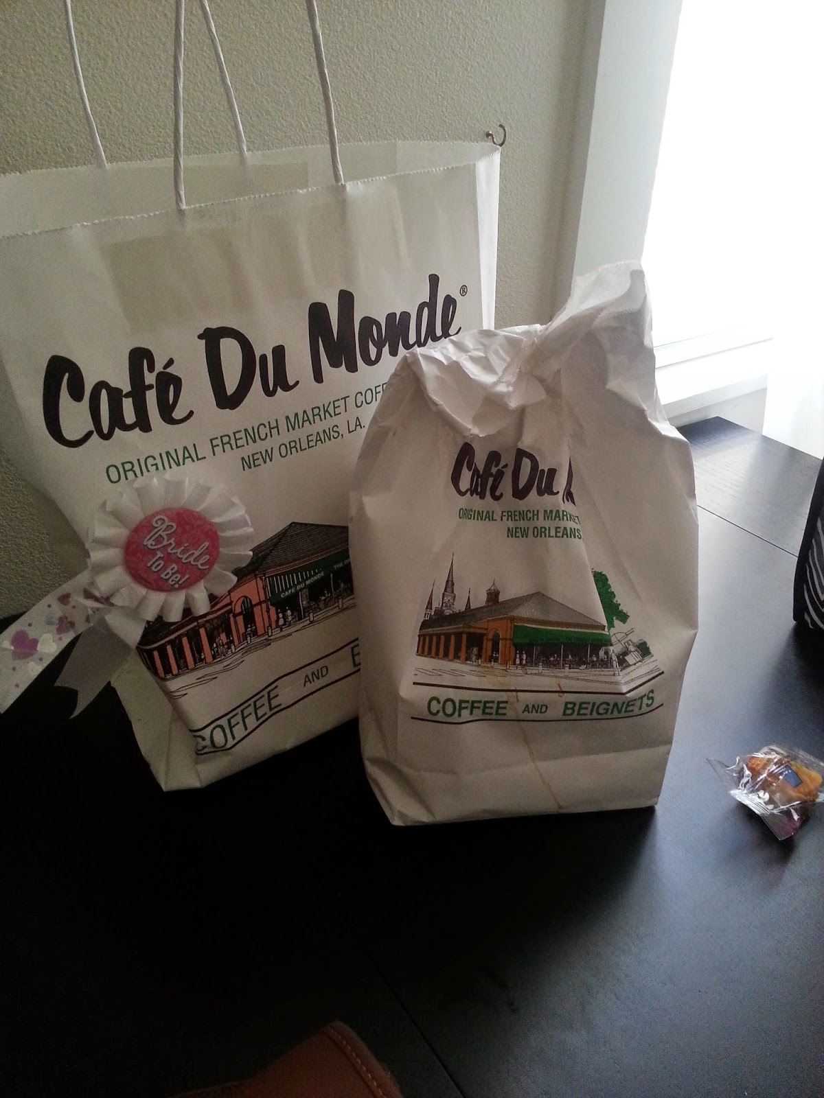 Cafe Du Monde Coffee in bags