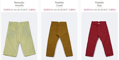 Bermudas pantalones Cacharel