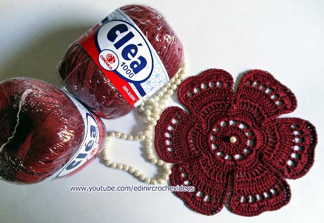 toalhas marsala vinho circulo produtos aprender croche dvd video-aulas loja curso de croche