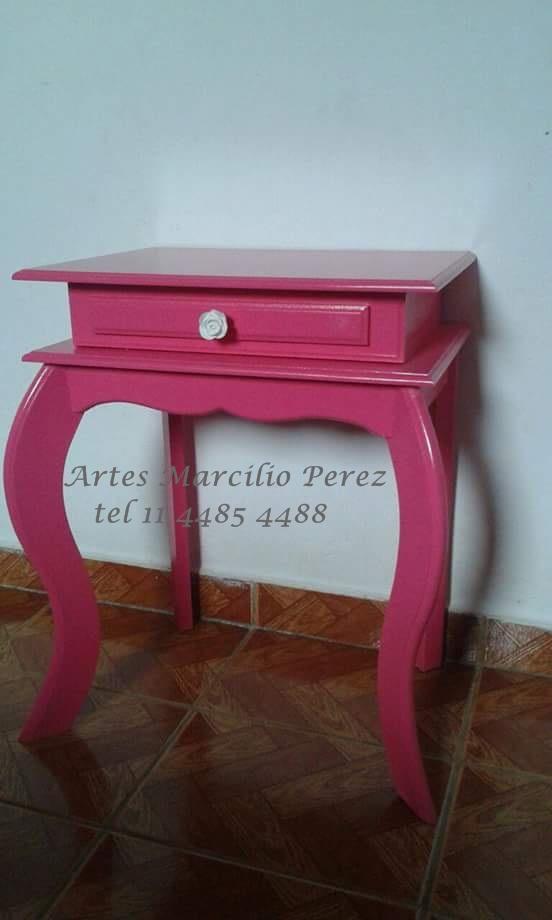 criado mudo pink R$ 110,00