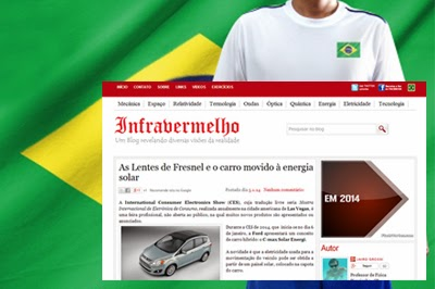 Raios Infravermelhos brazilian blog who use template BTDesigner