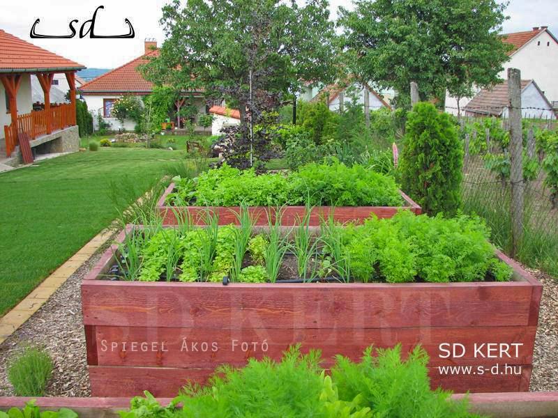 kerttervezés, kertépítés