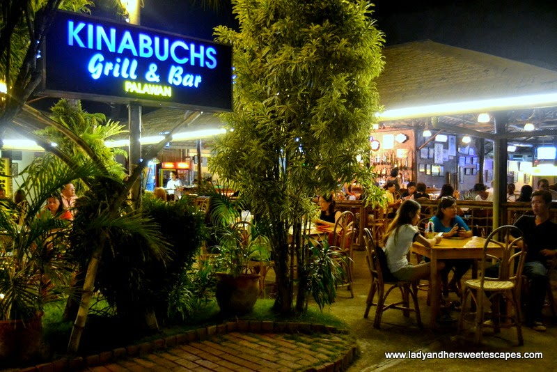 Kinabuchs Bar and Grill Palawan