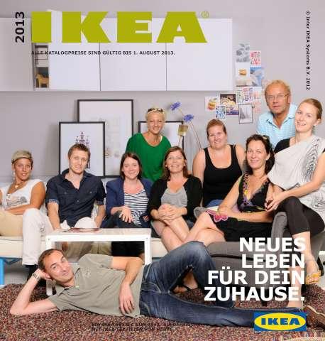 Ikea Katalog 2013 sessel leichte gardinen