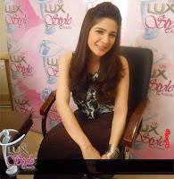 Beautiful Ayesha Omer During Lux Style Award
