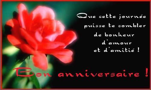 Sms Danniversaire Message Danniversaire Poème Danniversaire
