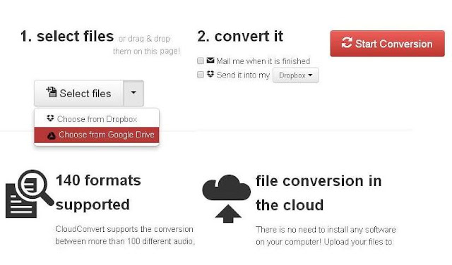 How to Convert Any Files into Any Other Format Using CloudConvert
