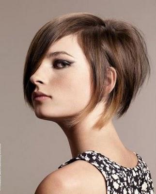 Corte de cabello carre en punta