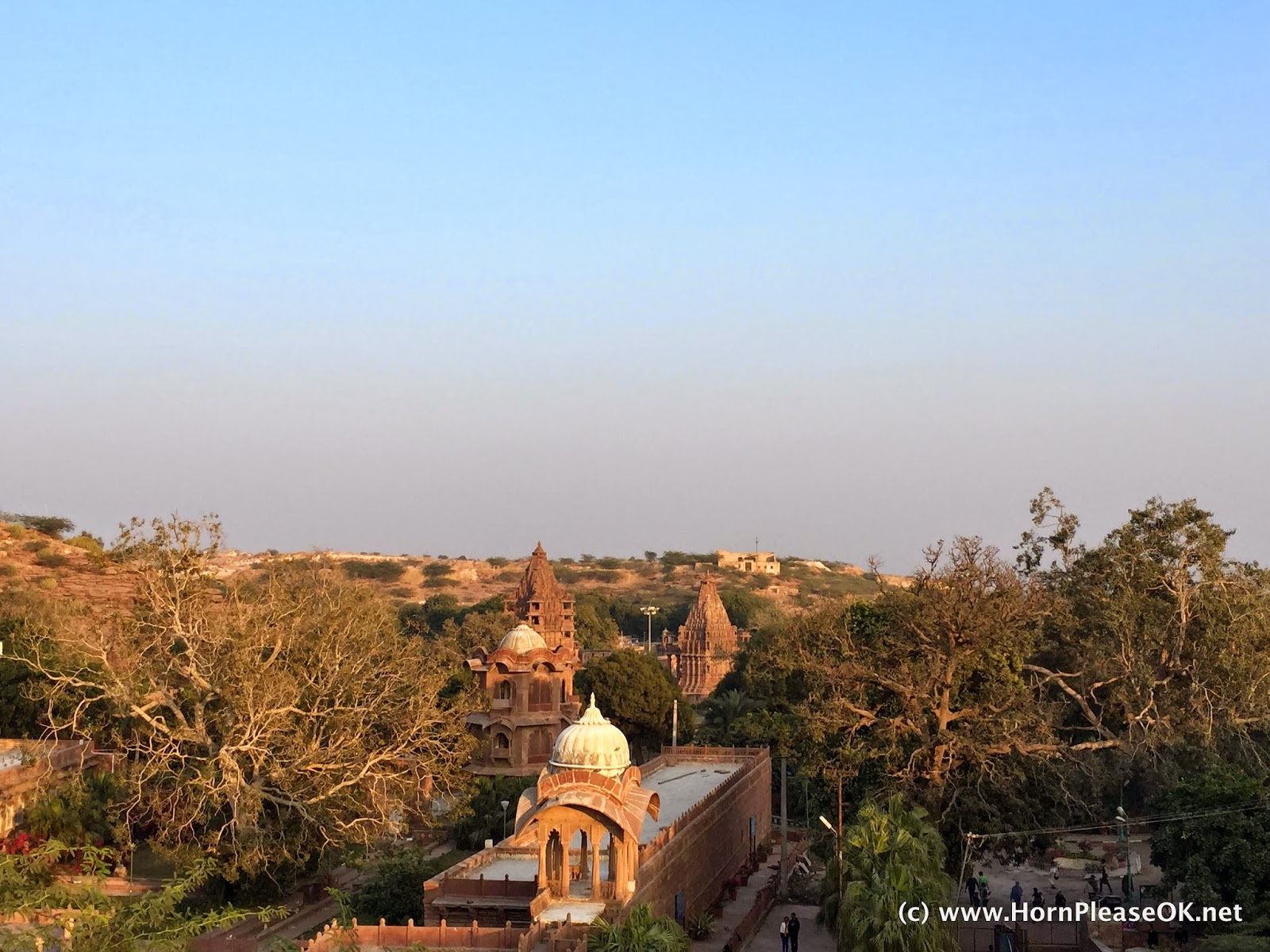 A view of Mandore from the old fort