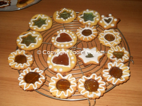 La cucina di paola brunetti biscotti di vetro per - Decorare frigorifero ...