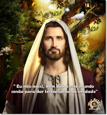 Eu não nasci, nem vim a este mundo senão para dar testemunho da verdade.   Jesus