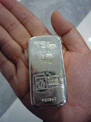 Silver Bullion Bar: 250gm, 500gm & 1kg