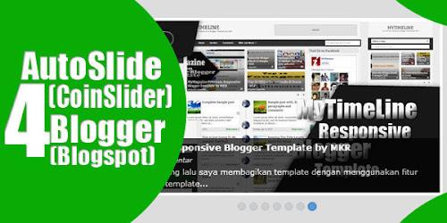 Memasang Auto Slideshow CoinSlider di Blogger/Blogspot
