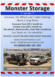 Costa Blanca Caravan Storage