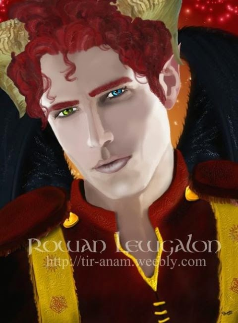 Ashriel by Enchanted Visions artist, Rowan Lewgalon